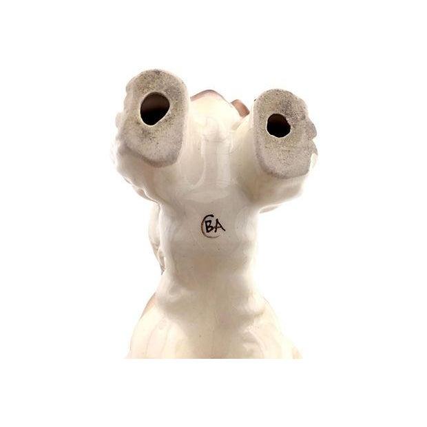 Porcelain Cocker Spaniel Figurine - Image 4 of 4