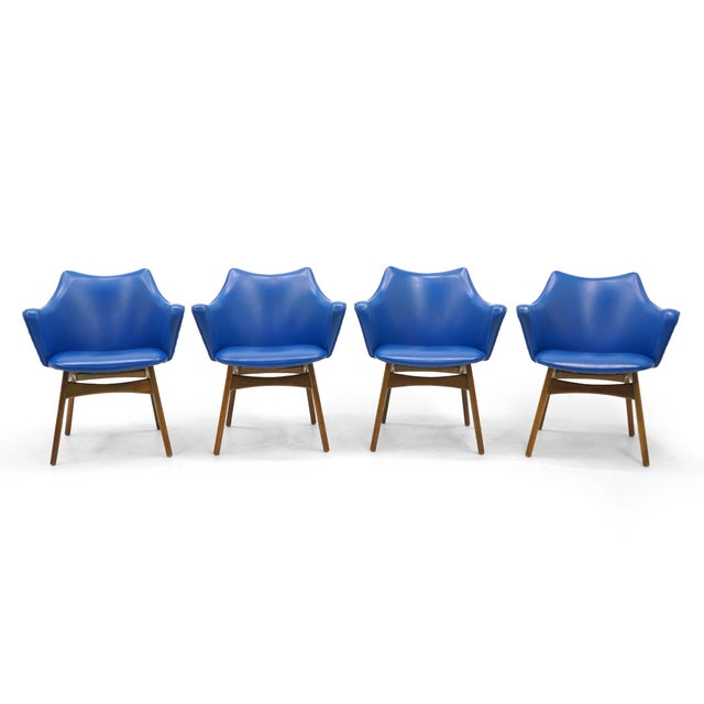 Adrian Pearsall Dining Chairs, Set of Four - Image 10 of 10