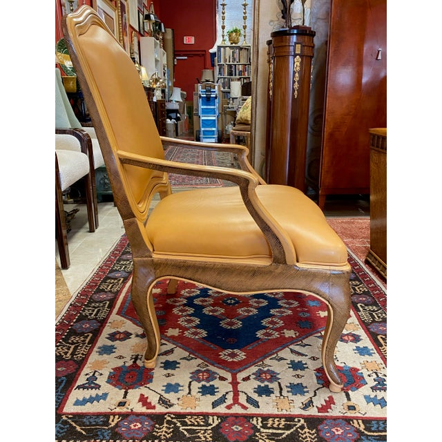 William Switzer Genovese Louis XV Venetian Occasional Chairs - a Pair For Sale In Tampa - Image 6 of 12