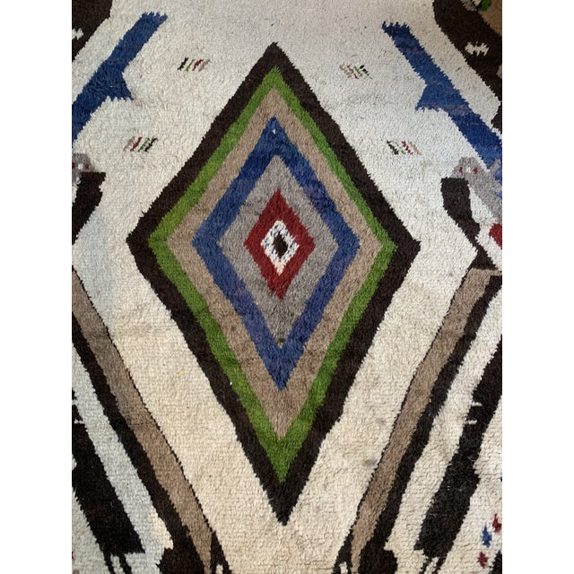 Islamic 13' X 7' Large Moroccan Rug For Sale - Image 3 of 9