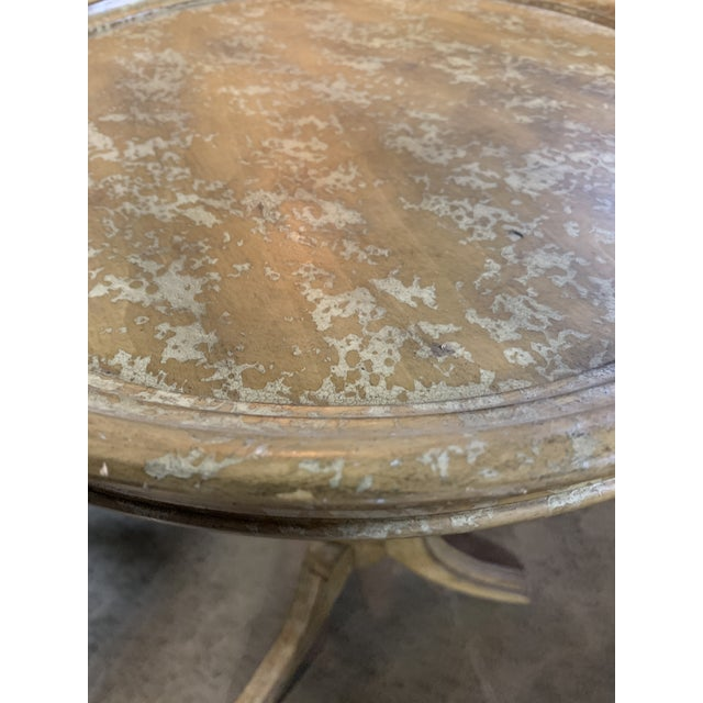 Rustic Rustic Side Table For Sale - Image 3 of 5