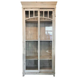 19th Century Boho Chic Tall Cabinet For Sale