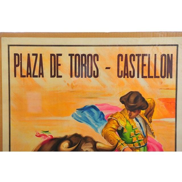 Mediterranean Charlton Heston 1960s Spanish Bullfight Poster For Sale - Image 3 of 5
