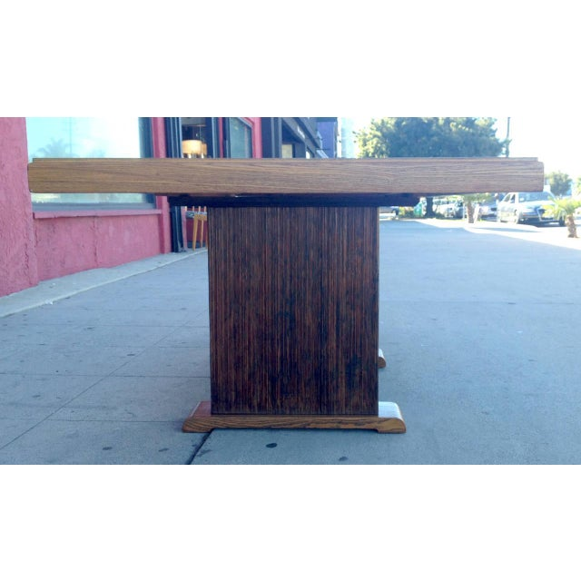 Paul Frankl Dining Table with Original Finish - Image 6 of 7