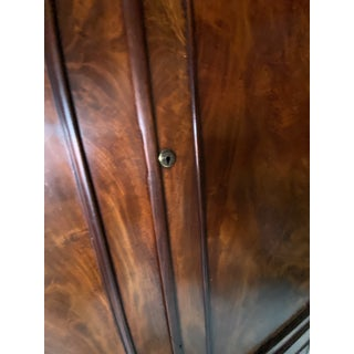 Vintage Burled Wood Armoire Preview