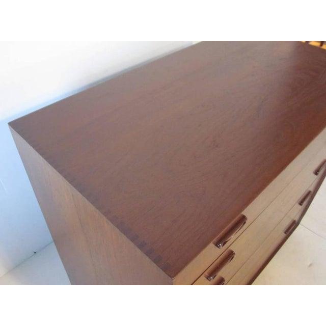 Mid-Century Modern Peter Hvidt for John Stuart Teak Wood Chest For Sale - Image 3 of 8