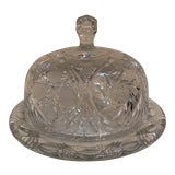 Image of Crystal Cheese Dome For Sale