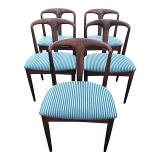 Johannes Anderson for Vamo Pv Sønderborg Teak Dining Chairs - Set of 5 For Sale