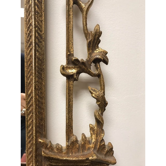 Carved Giltwood Chinoiserie Pagoda Mirror - Image 5 of 6