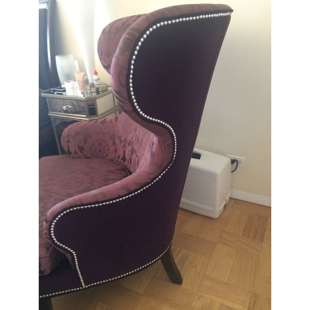 Ethan Allen Rand Wing Chair - Image 3 of 5