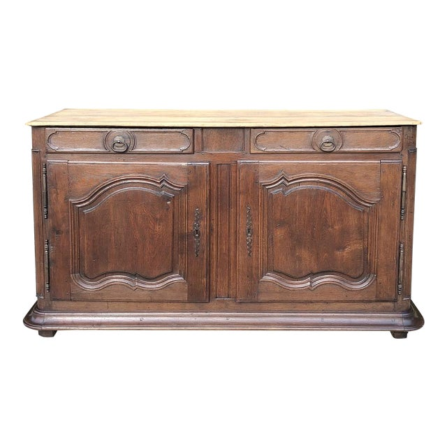 Early 19th Century French Provincial Buffet For Sale