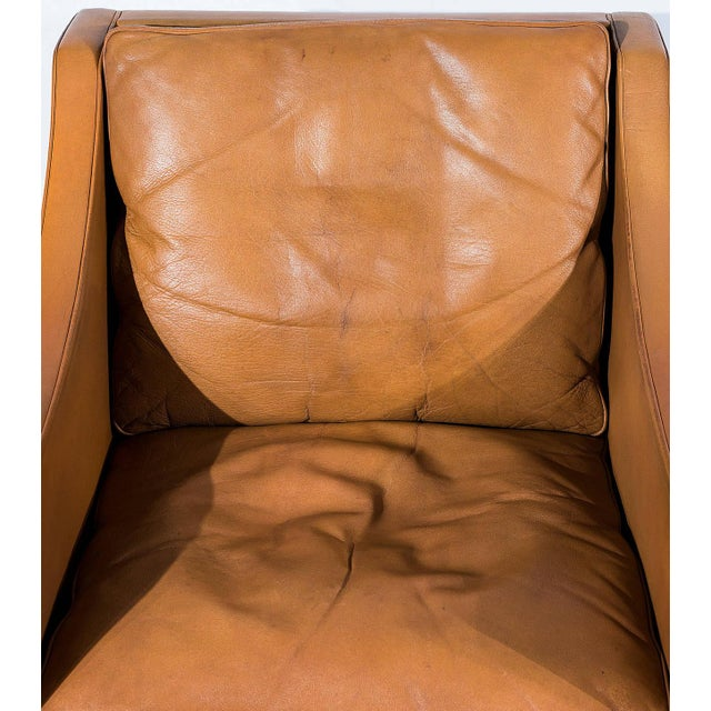 Børge Mogensen Model No. 2207 Leather Lounge Chair For Sale - Image 9 of 9