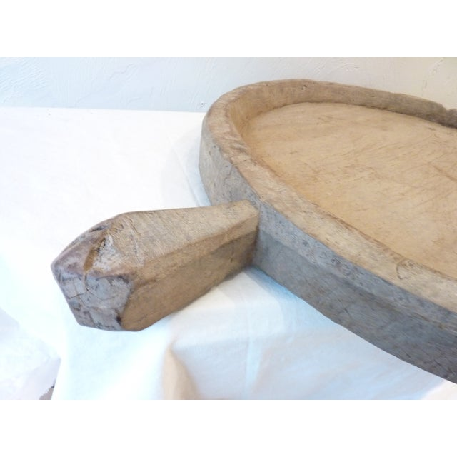 Rustic Rustic Wooden Olive Tray For Sale - Image 3 of 8