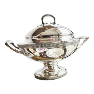 Antique Tiffany & Co. Victorian Era Silver Plated Tureen