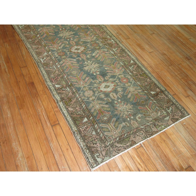 Islamic Antique Persian Malayer, 3'1'' X 5'11'' For Sale - Image 3 of 8