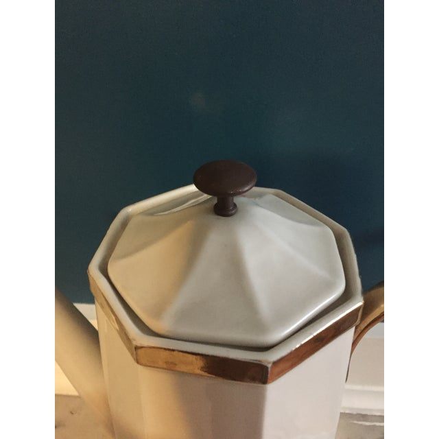Mid-Century Coffee Pot For Sale - Image 4 of 5