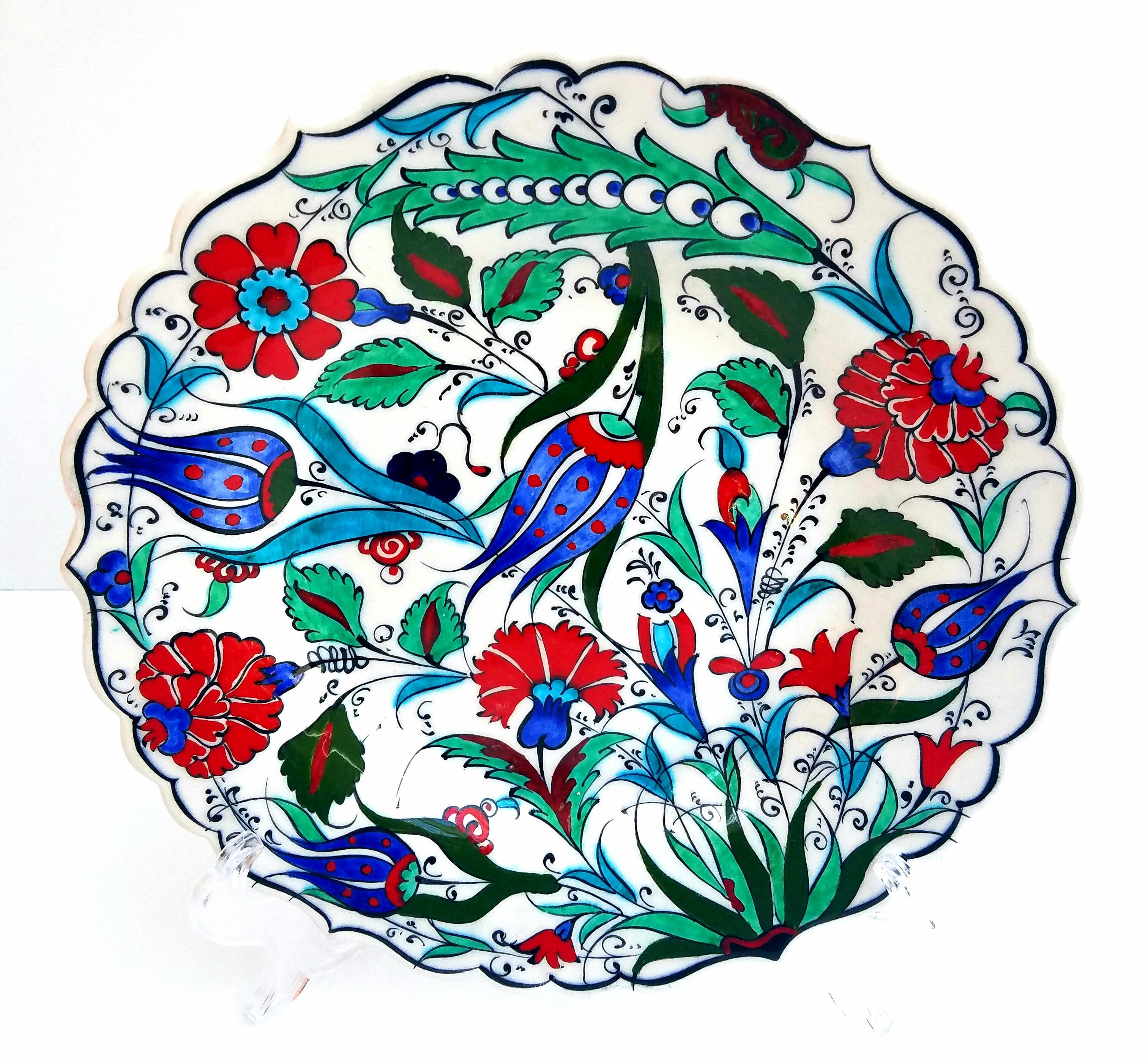 turkish hand made plate chairish