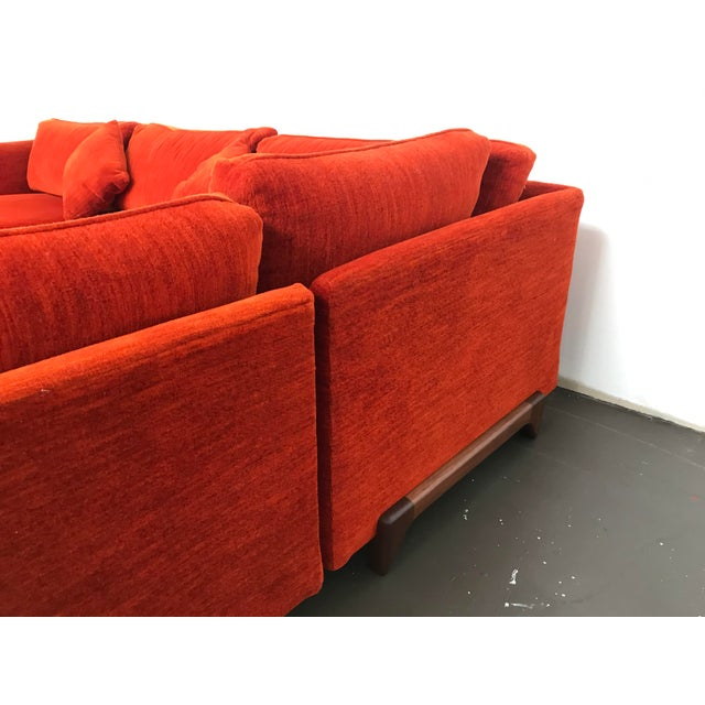 Sectional Sofa by Adrian Pearsall for Craft Associates For Sale In Boston - Image 6 of 12