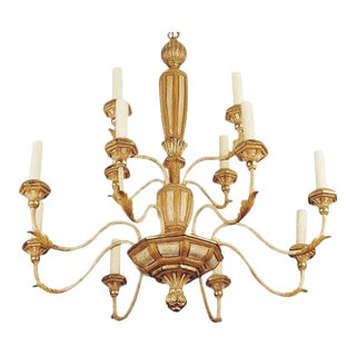 Superb Michael Taylor Panache Designer Italian Chandelier For Sale