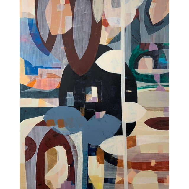 Large Scale Original Abstract Acrylic Painting For Sale
