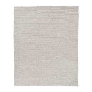 Reading Ivory Flatweave Polyester/Cotton Area Rug - 9'x12' For Sale