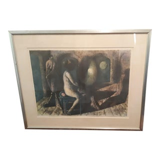 """Desnudo"" by Armando Morales Lithograph Signed and Numbered For Sale"