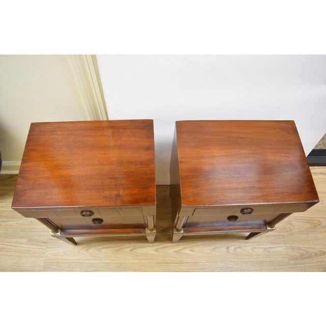 Italian Pair of Vintage Italian Nightstands For Sale - Image 3 of 10