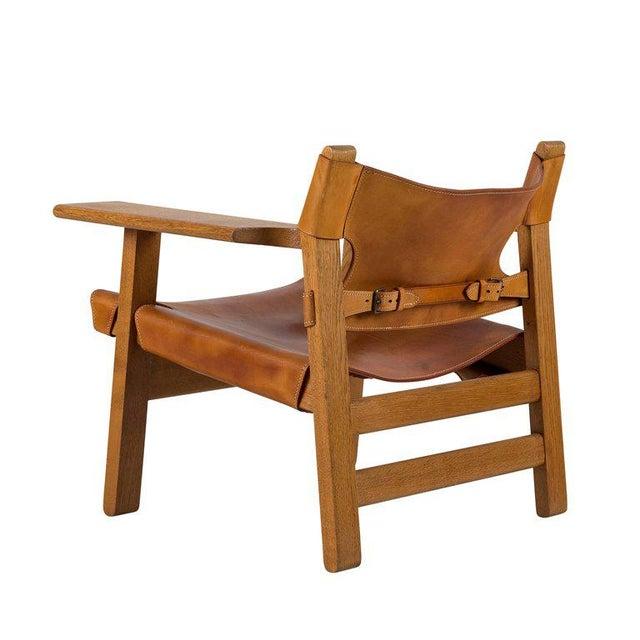"Børge Mogensen ""Spanish"" Chair - Image 6 of 10"