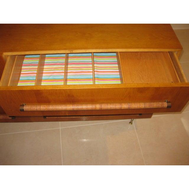 1950 Mid-Century T.H. Robsjohn-Gibbings Double Dresser - Image 3 of 10