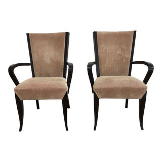Dakota Jackson Arm Side Chairs For Sale