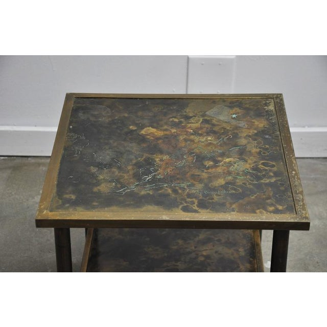 Philip and Kelvin LaVerne Bronze Side Table - Image 6 of 6