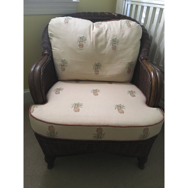 Lexington Casual Willow Chair and Ottoman - Image 5 of 8