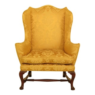 Kittinger Cw-44 Colonial Williamsburg Mahogany Wing Chair
