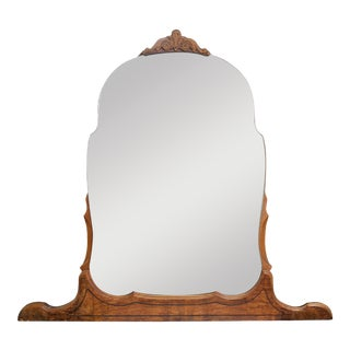 Art Deco Oak Dresser Mirror For Sale