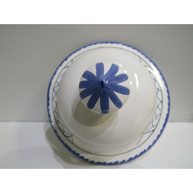 Ceramic Tiffany & Co Covered Urn For Sale - Image 7 of 13