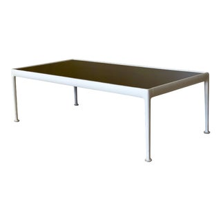 1966 Mid-Century Modern Richard Schultz Knoll Aluminum Rectangular Coffee Table For Sale