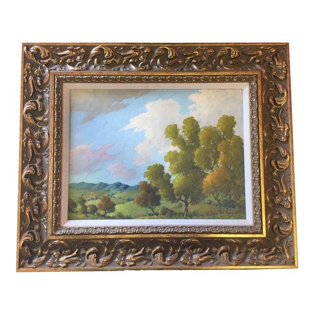Blue Ridge Mountains Landscape Painting Attr. B B Moore For Sale