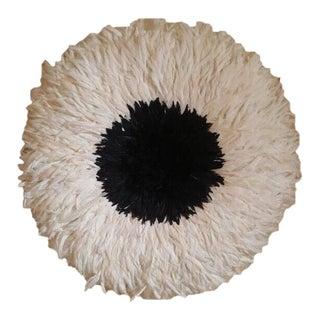Authentic Black & Cream Juju Hat For Sale