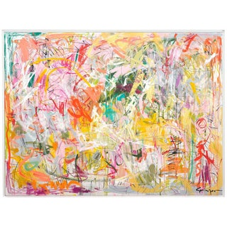 Lesley Grainger 'Back to Life' Original Abstract Painting For Sale
