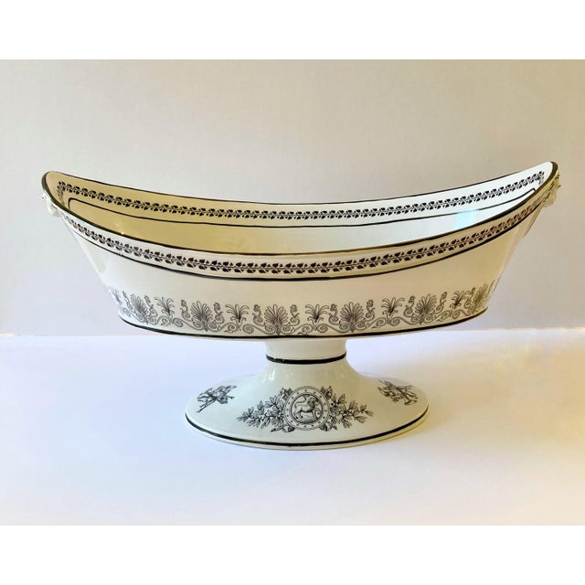 Mottahedeh Italian Pedestal Bowl For Sale - Image 12 of 12