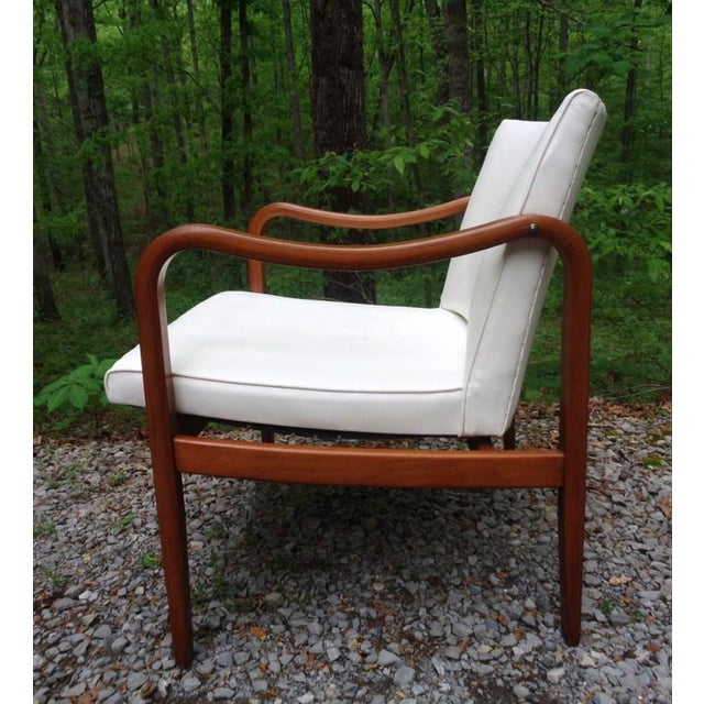 Wood Rare 1960 Barney Flagg for Drexel Parallel Bent Wood Club Chair For Sale - Image 7 of 13