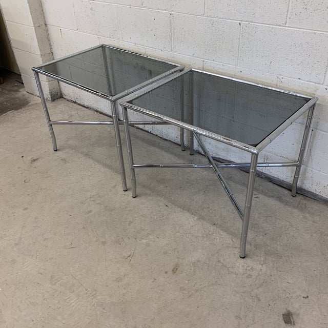 These are a mainstay in any mid century or Hollywood regency home! Chrome is in near perfect condition. You can tell these...
