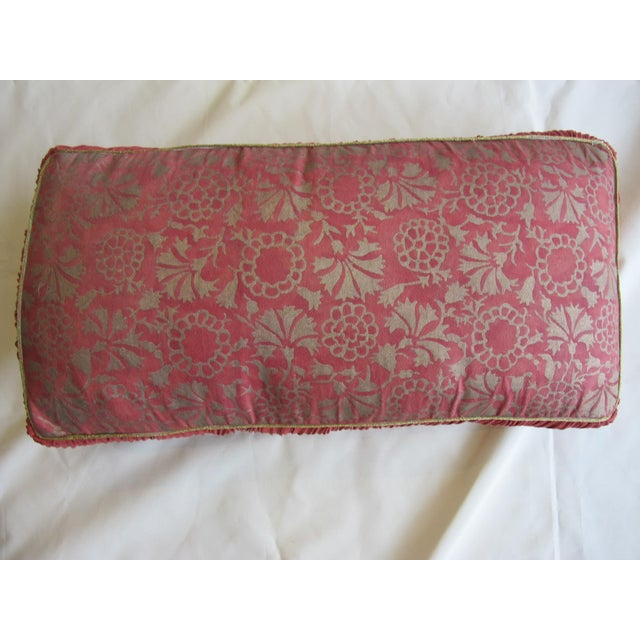 Fortuny Fortuny Floral Pillow For Sale - Image 4 of 4