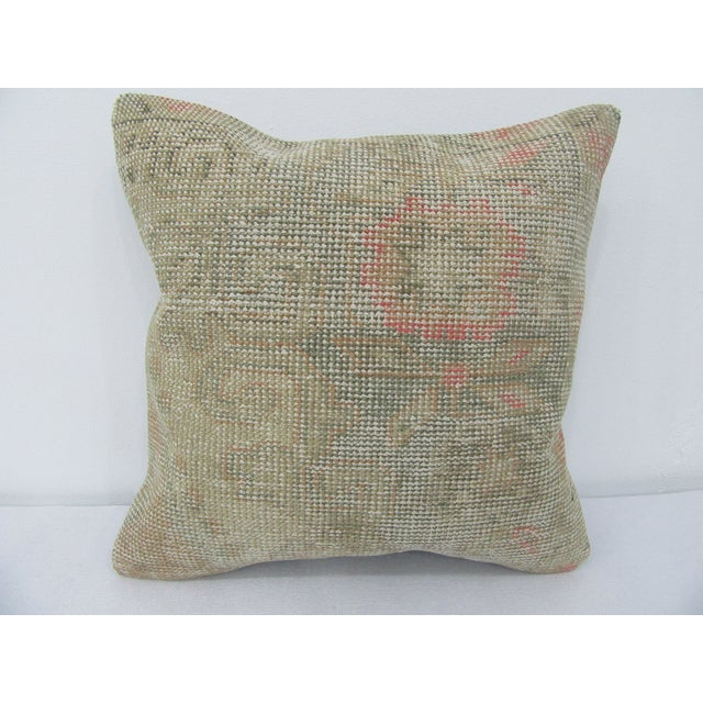 Vintage Turkish Handmade Decorative Pillow Cover For Sale - Image 4 of 4