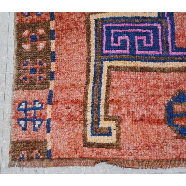 """1940s Vintage Kurdish Rug,5'6""""x9'7"""" For Sale - Image 5 of 7"""