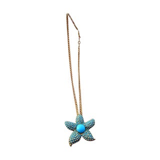 Kenneth Jay Lane Starfish Necklace For Sale