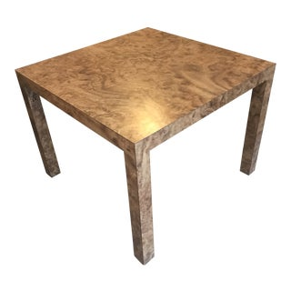1970s Vintage Milo Baughman Style Lamp Table Sloan's New York For Sale