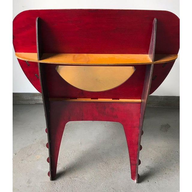 Wood Modern Puzzle Chair by David Kawecki For Sale - Image 7 of 11