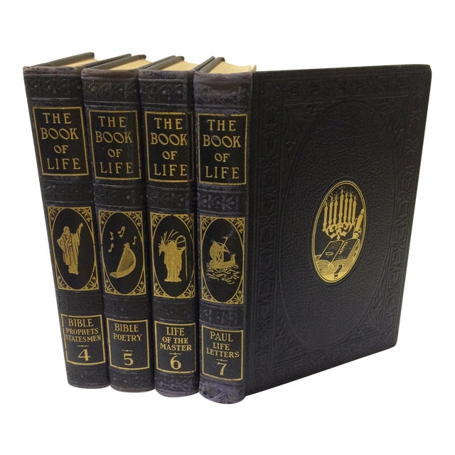 C. 1948 The Book of Life - Set of 4 For Sale