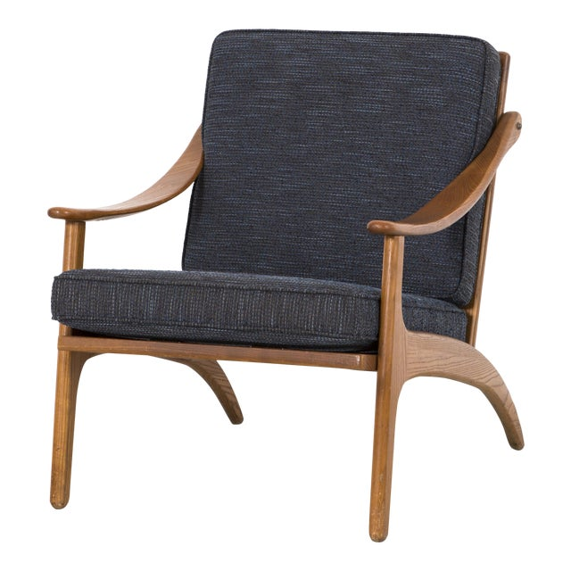 Lounge Chair by Hovmand Olsen For Sale